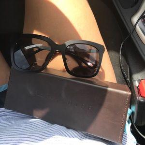 Lauren Akins diff sunglasses